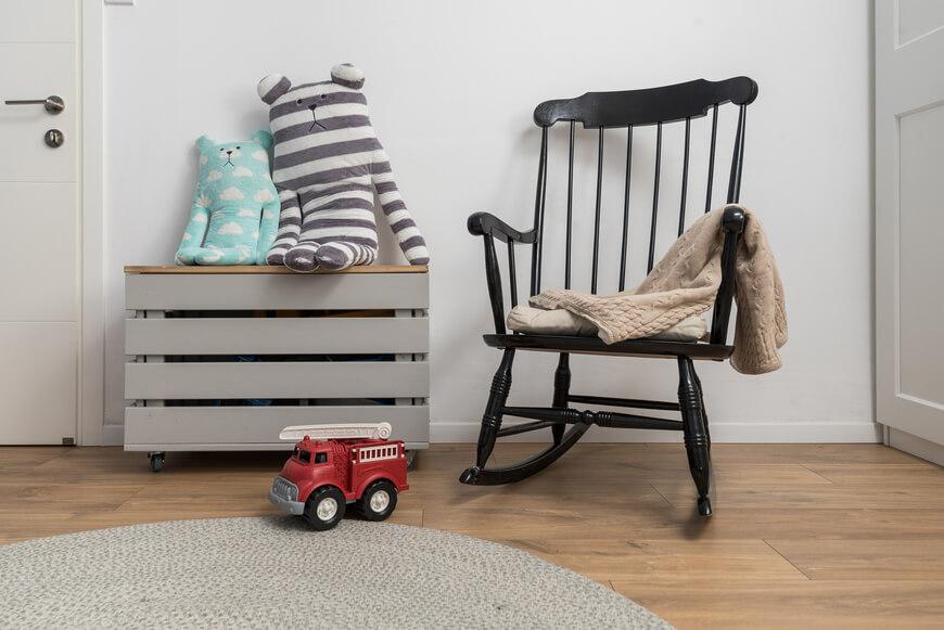 עיצוב החדר של התינוק